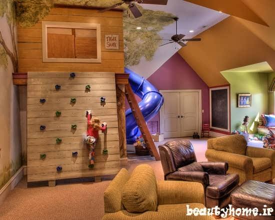 دکوراسیون مدرن اتاق کودک