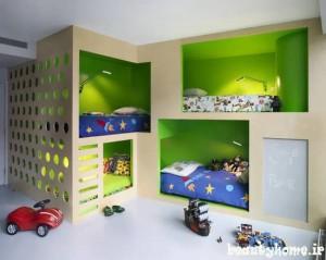 طراحی دکوراسیون اتاق کودک پسر