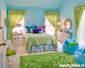 مدل جدید طراحی دکوراسیون اتاق کودک دختر