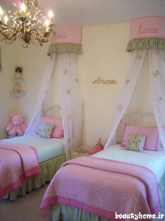 مدل طراحی دکوراسیون اتاق کودک دختر 2013