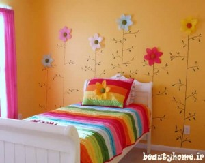 مدل طراحی دکوراسیون اتاق کودک دختر