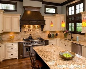 طراحی چیدمان آشپزخانه مدرن 2013