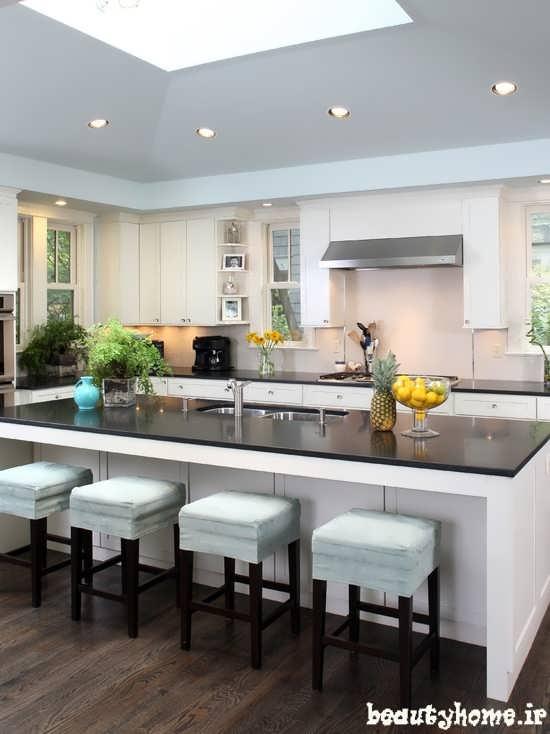 ایده برای دکوراسیون داخلی آشپزخانه