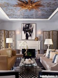 طراحی دکوراسیون نشیمن خانه معمولی