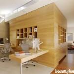 طراحی مدل دکوراسیون داخلی شرکت شیک و مدرن
