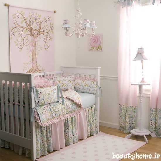 طراحی دکوراسیون اتاق نوزاد