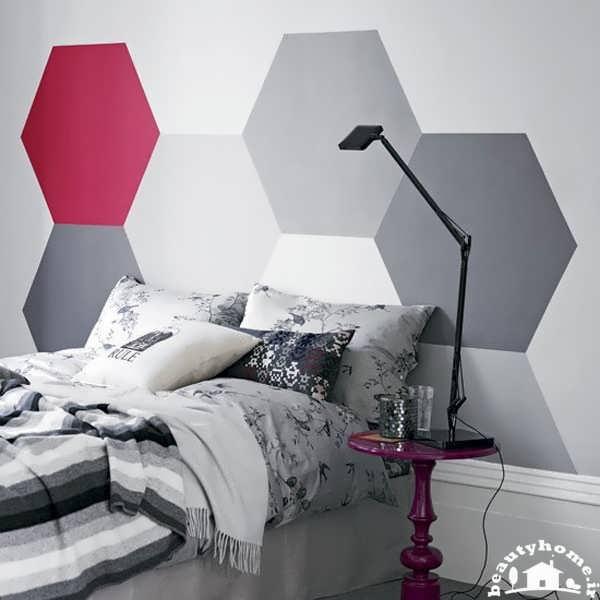 تزئین اتاق خواب و دیوار اتاق خواب