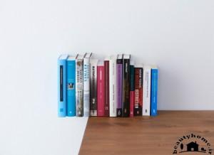کتابخانه کوچک خانگی مدرن و جادویی