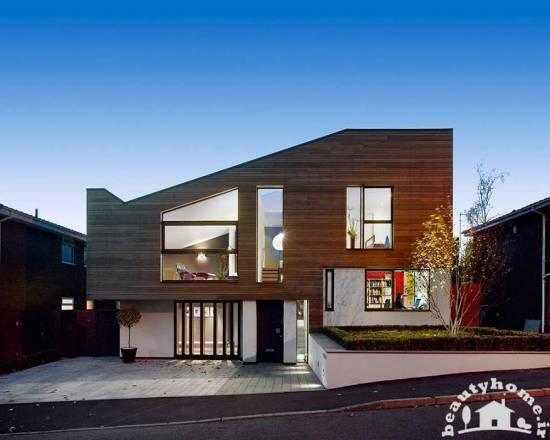 نمای خارجی ساختمان های مدرن و زیبا