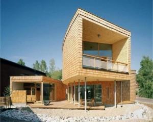 نمای خارجی ساختمان زیبا مدرن جدید