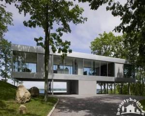 نمای خارجی ساختمان ویلا مدرن