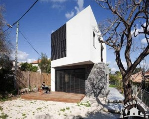 نمای خارجی ساختمان با معماری ایرانی