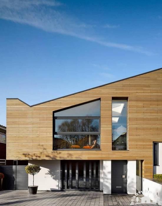 نمای خارجی ساختمان با معماری زیبا