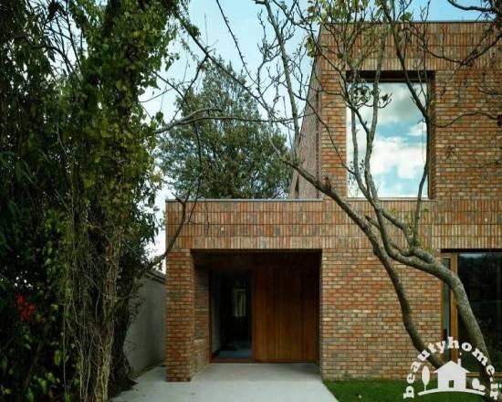 نمای خارجی ساختمان ایرانی شیک و مدرن