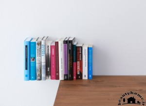 کتابخانه کوچک خانگی زیبا و جادویی