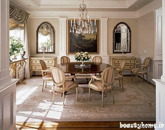 مدل میز نهارخوری سلطنتی زیبا و مدرن 2013