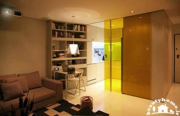 ایده های نو در طراحی دکوراسیون داخلی خانه کوچک و مدرن