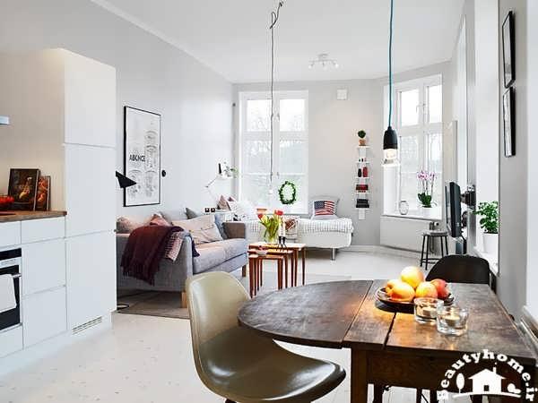 ایده جدید در طراحی دکوراسیون داخلی خانه کوچک و مدرن