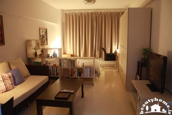 نورپردازی در طراحی دکوراسیون داخلی خانه کوچک و مدرن