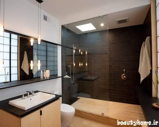 طراحی دکوراسیون حمام خانه ایرانی جدید
