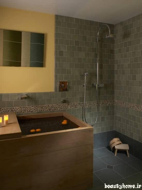 طراحی دکوراسیون حمام ایرانی مدرن