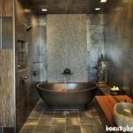 طراحی دکوراسیون حمام خانه ایرانی مدرن