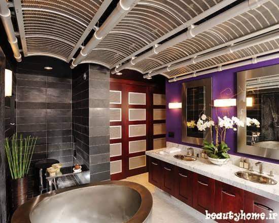 طراحی دکوراسیون حمام ایرانی جدید
