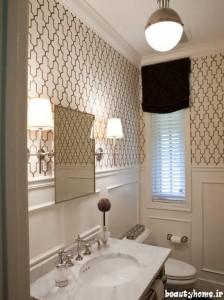 طراحی دکوراسیون حمام خانه ایرانی شیک و مدرن