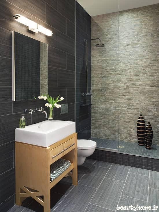 طراحی دکوراسیون حمام شیک و مدرن 2013