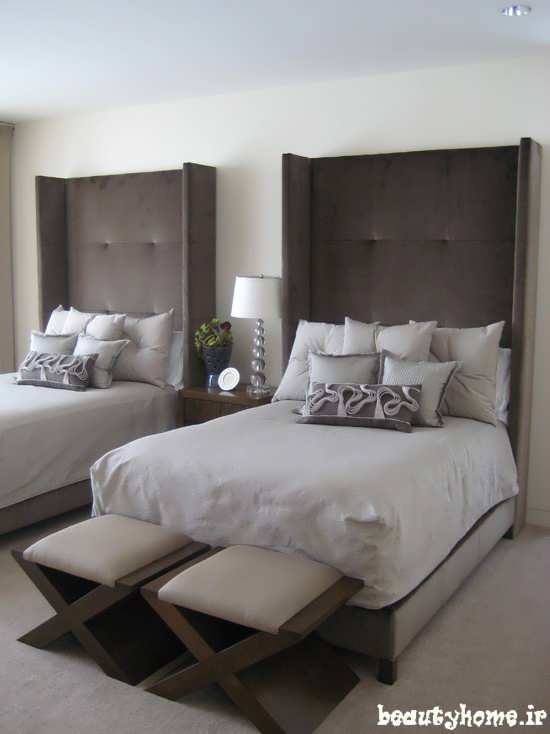 دکوراسیون اتاق خواب ساده و کلاسیک