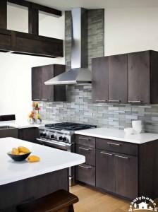 طراحی دکوراسیون آشپزخانه کوچک و جدید