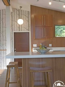 طراحی دکوراسیون آشپزخانه کوچک و جدید زیبا