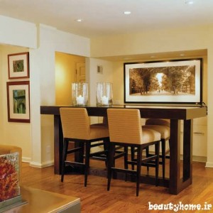 مدل میز بار در دکوراسیون آشپزخانه مدرن