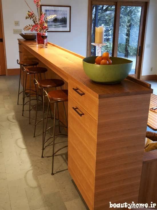 مدل میز بار چوبی و مدرن