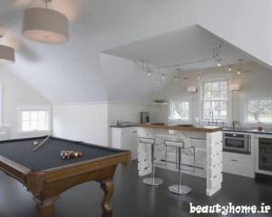 مدل میز بار سفید و کوچک