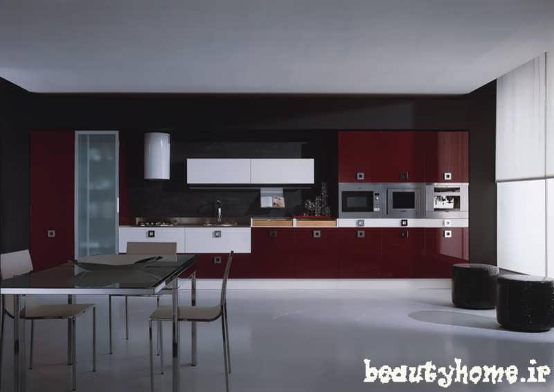 طراحی دکوراسیون آشپز خانه کابینت  2013