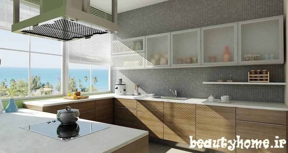 طراحی دکوراسیون آشپز خانه مکعبی  2013