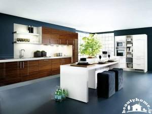 کابینت جدید برای دکوراسیون آشپزخانه شیک