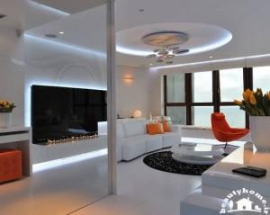 طراحی دکوراسیون پذیرایی خانه های معمولی و متوسط