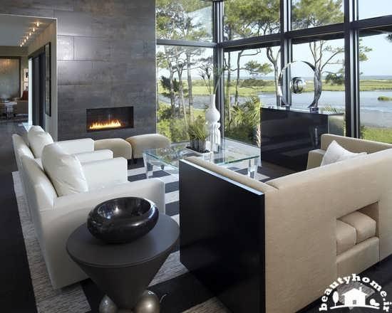 طراحی دکوراسیون پذیرایی خانه با سلیقه و شیک