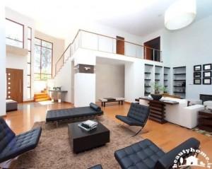 طراحی دکوراسیون پذیرایی خانه با سلیقه و مدرن