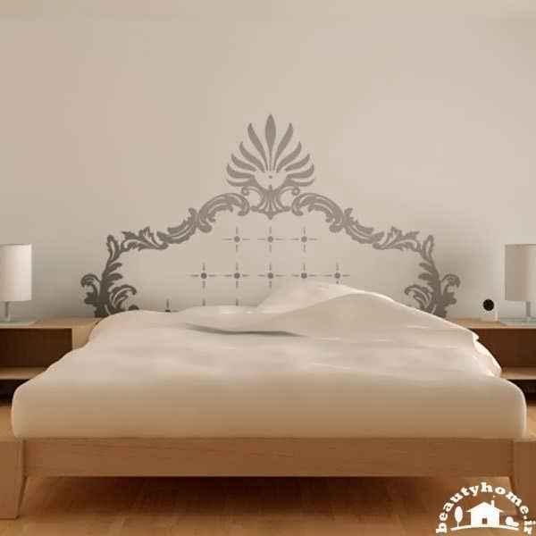 نقاشی و طراحی روی دیوار با ایده ها اتاق خواب