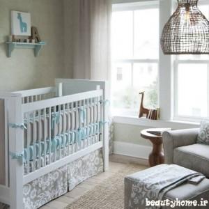 مدل دکوراسیون اتاق نوزاد با چیدمان ساده 92
