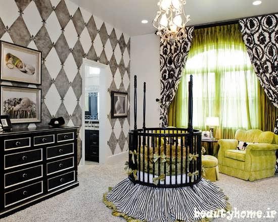 مدل تخت نوزاد با طراحی مدرن