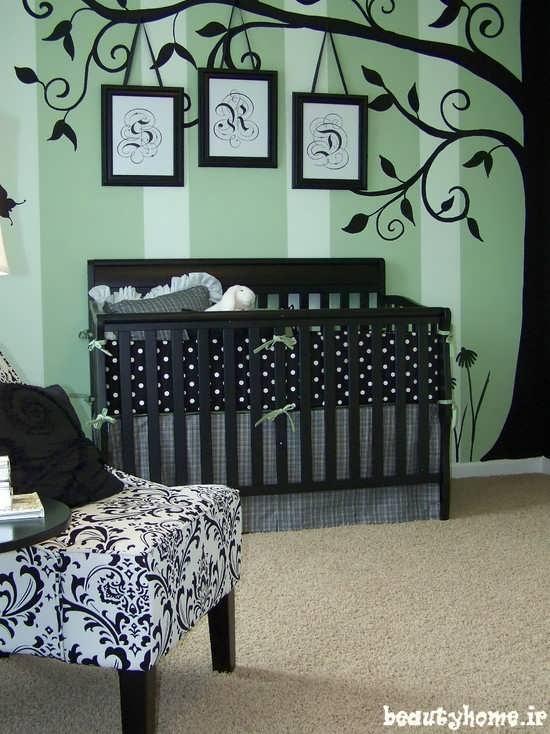 تخت نوزاد ایمن و زیبا 2013