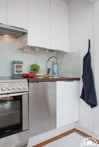 مدل طراحی دکوراسیون داخلی آپارتمان کوچک جدید و ساده