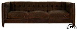 مدل کاناپه راحتی ساده قهوه ای زیبا