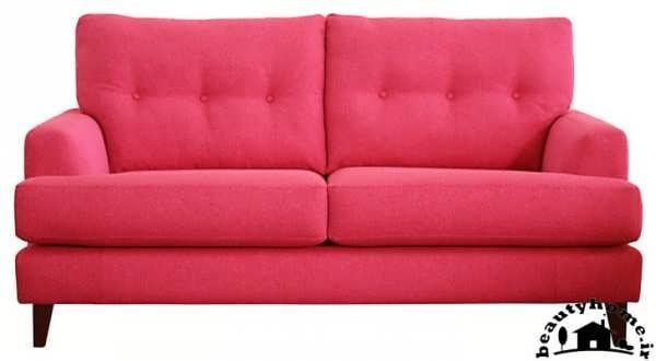 مدل کاناپه راحتی ساده صورتی و قرمز زیبا