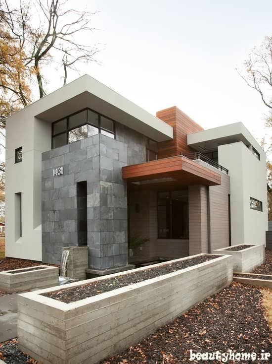 طراحی نمای بیرونی ساختمان دکوراسیون خارجی