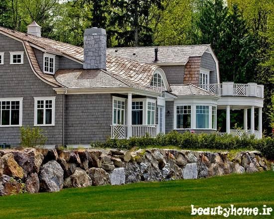طراحی نمای بیرونی ساختمان مدرن و شیک